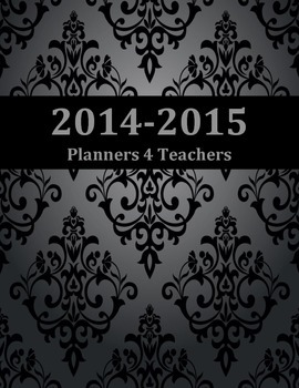 Teacher planner: Damask weekly in FRENCH