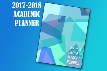Teacher's Academic Planner for 2017-2018