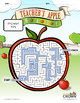 Teacher's Apple Maze – Puzzles by ClassCrown