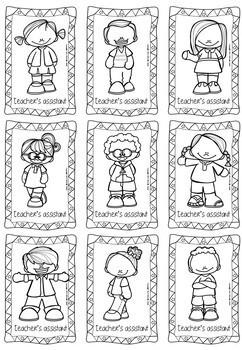 Teacher's Assistant Badges and Checklist