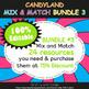 Teacher's Binder Cover in Candy Land Theme - 100% Editable