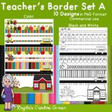 Teacher's Border Set A