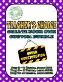 Teacher's Choice!! Build Your Own Custom Bundle