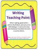 Teachers College (TC) Writing Workshop Teaching Points: Kindergarten
