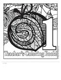 Teacher's Coloring Book 1 Templates