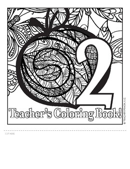 Teacher's Coloring Book 2 Templates