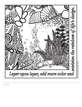 Teacher's Coloring Book 3 Templates