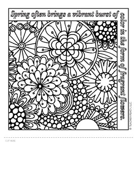 Teacher's Coloring Book 4 Templates