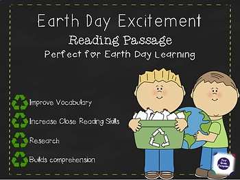 Earth Day Excitement; Reading Passage