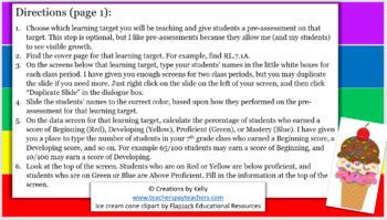 Teacher's Digital Data Tracker for Every Student, Grade 7 Reading (OHIO)
