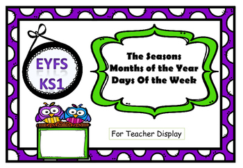 Teacher's Display Pack