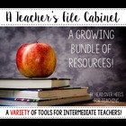 Teacher's File Cabinet { A Growing Bundle of Teaching Tools}