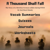 "Teacher's Guide & Literature Unit for ""A Thousand Shall Fall"""