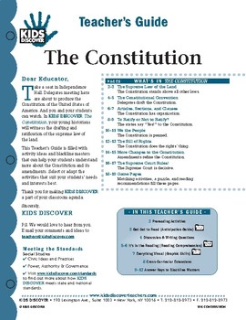 KIDS DISCOVER Teacher's Guide: The Constitution