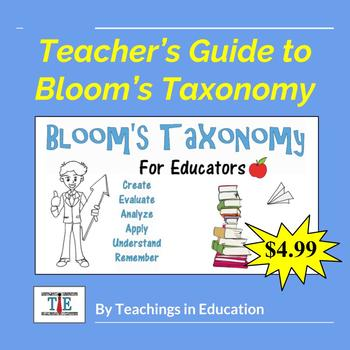 Bloom's Taxonomy: A Teacher's Guide (PowerPoint)