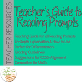 Teacher's Guide to Reading Prompts