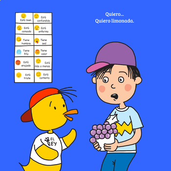 Teacher's Guide to be Used with The Duck Song or Book El Pato Quiere Uvas