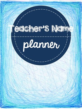 Teacher's Lesson Planning Binder