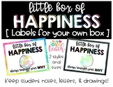 Teacher's Little Box of Happiness Labels