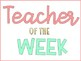 Teacher's Lounge Makeover-PINK, MINT, and GOLD