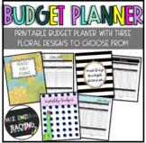 Teacher's Monthly Budget Planner
