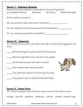 Teacher's Pets ~ Language Arts Workbook ~ 2nd Grade ~ HMH Journeys
