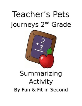 Teacher's Pets Summarizing Activity