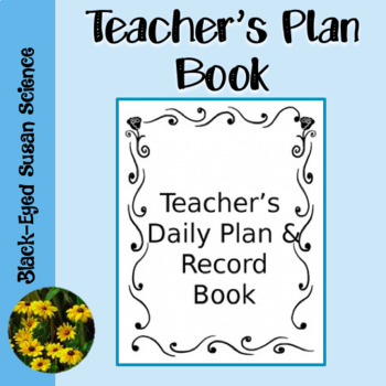 Teacher's Plan and Record Book