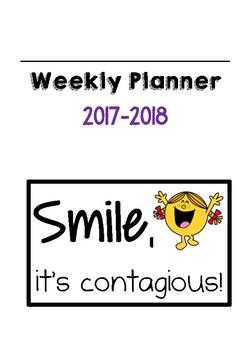 Teacher's Planner