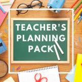 Teacher's Planning Pack