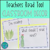Teacher's Reading Sign