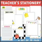 Teacher's Stationery Set of 10