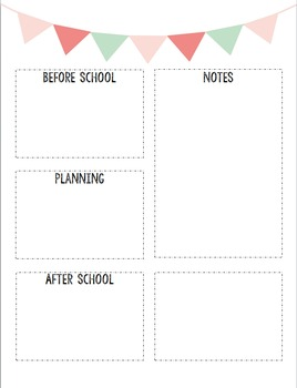 Teacher's To Do List Printable
