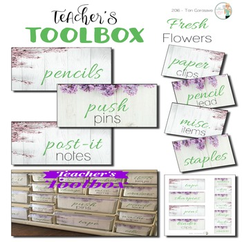 Teacher's Toolbox - Fresh Flowers {Dollar Deals}