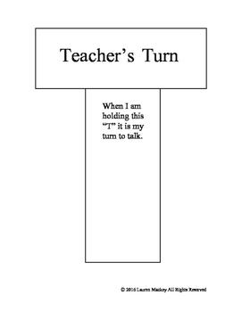 Teacher's Turn Visual Cue