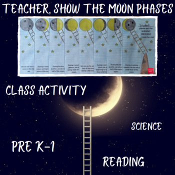 Teacher, show the moon phases to me!