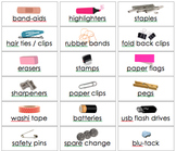 Teacher toolbox labels with pictures