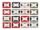 Teacher toolbox labels--black, red, and gray
