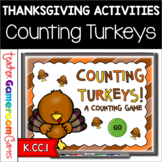 Teacher vs. Student - Counting Turkeys Powerpoint Game