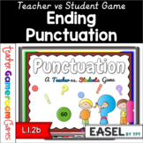 Teacher vs Student - Ending Punctuation Powerpoint Game