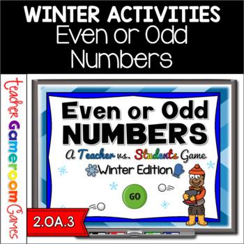 Teacher vs. Student - Even or Odd - Winter Edition