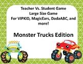 Teacher vs. Student Monster Truck game for VIPKID, DadaABC