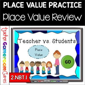 Teacher vs. Student - Place Value - 2.NBT.1