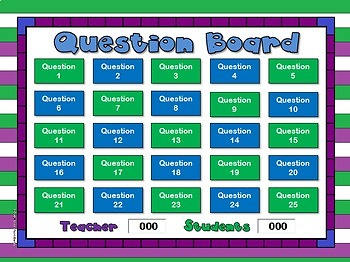 Teacher vs. Student Simplest Form PPT Game