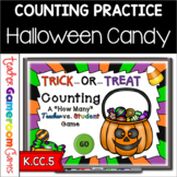 Teacher vs. Student - Halloween Counting Powerpoint Game