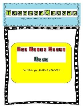 """TeacherCheats: Chapter Summaries for """"The Thing About Luck"""""""