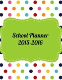 Teacher/Paraprofessional Planner