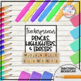 Teacherpreneur Mockup Creator | Movable Elements | Highlig