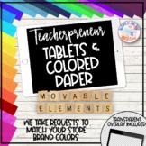 Teacherpreneur Mockup Creator | Movable Mockup Elements |