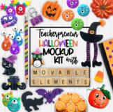 Teacherpreneur Mockup | Halloween Mockups | Create Your Ow